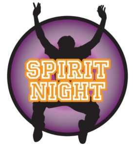 Spirit Night Graphic